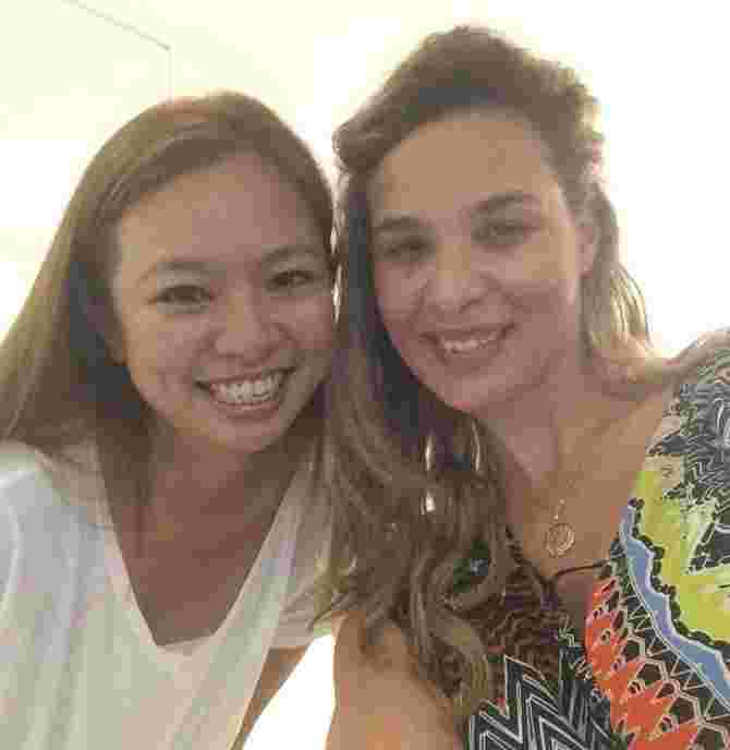 With the ever affable and gorgeous Wendy Jacobs