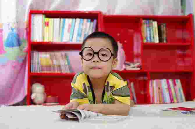 positive experience, boy, read, book, child, kid, learn