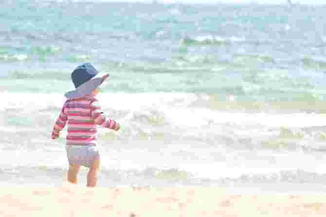 swim diapers, baby, toddler, infant, seaside, play