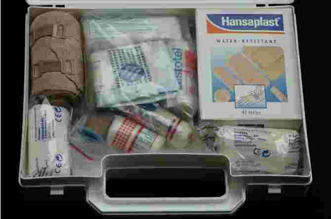 head injuries, first aid kit, medical, safety, bandage, plaster, wound