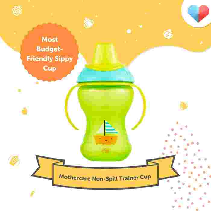 Mothercare Non-Spill Trainer Cup Review  Most Budget-Friendly Sippy Cup