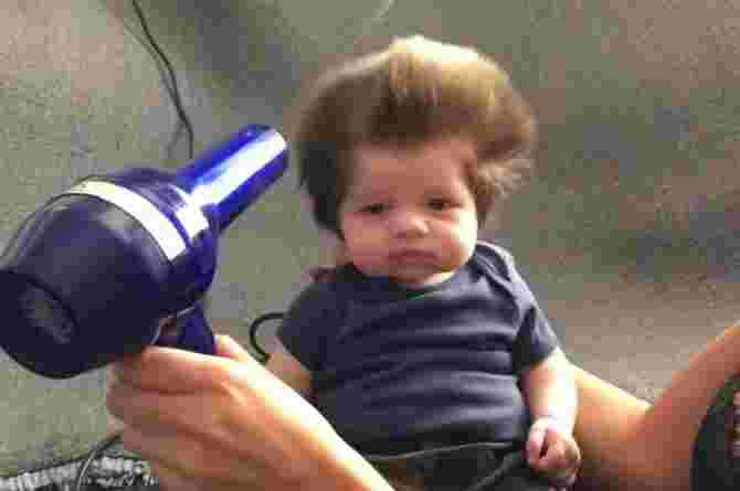 how to get shiny hair for toddlers