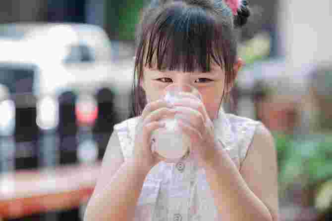 fresh milk for toddlers