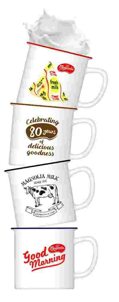 These awesome vintage mugs from MAGNOLIA will make you say OMG (Oh Milk Goodness!)