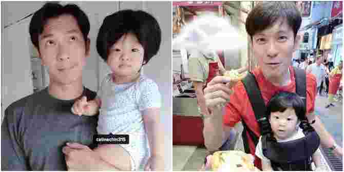 These pictures of Singapore celebrity DADS with their kids will melt your heart!
