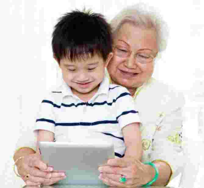Stay-at-home mums and grannies in Singapore