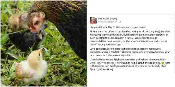 This Mother's Day message by PM Lee is BEAUTIFUL!