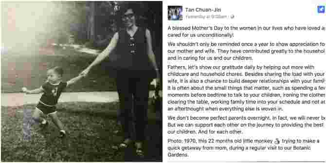 PM Lee's Mother's Day Message