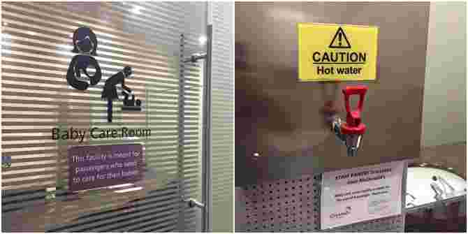 Mum shocked by violation of privacy at Singapore baby care room!