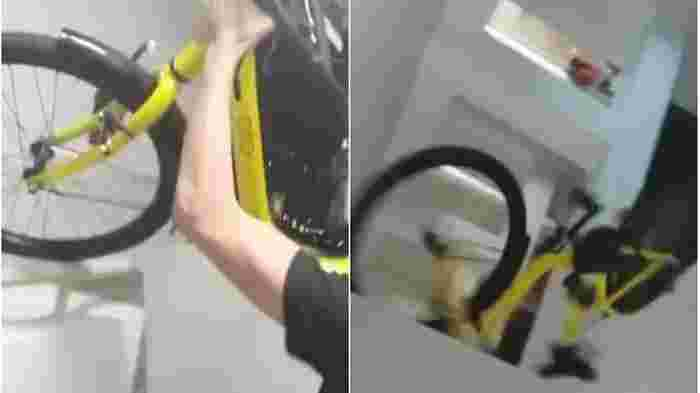 13-year-old boy arrested for allegedly throwing ofo bike off HDB block