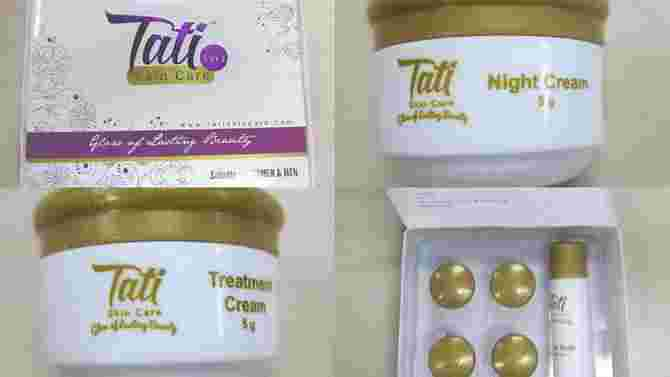 Do you use Tati skincare products? Throw them away right now!