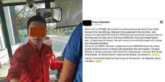 Should SMRT Bus Drivers Know How To Speak English?