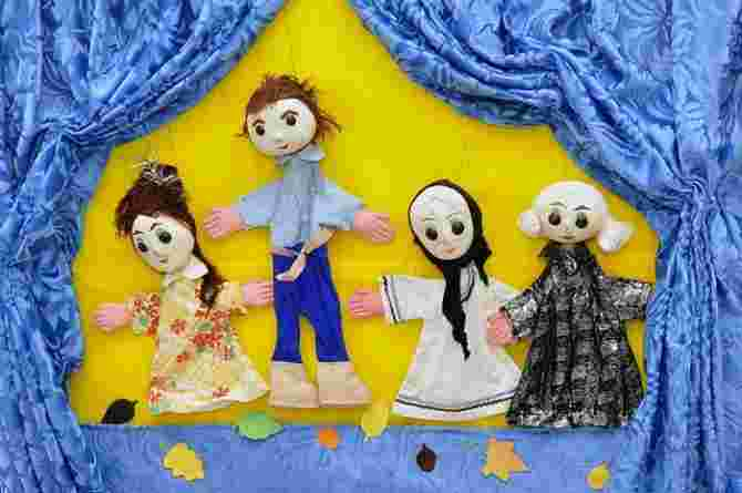 Hungry Ghost Festival, puppet theatre, fun, play, game, activity, toy, doll