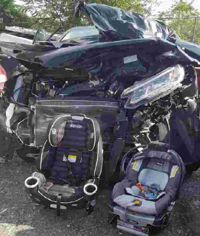 THIS is why you should buckle your kids in their car seat