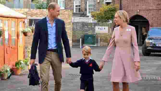 prince george first day school