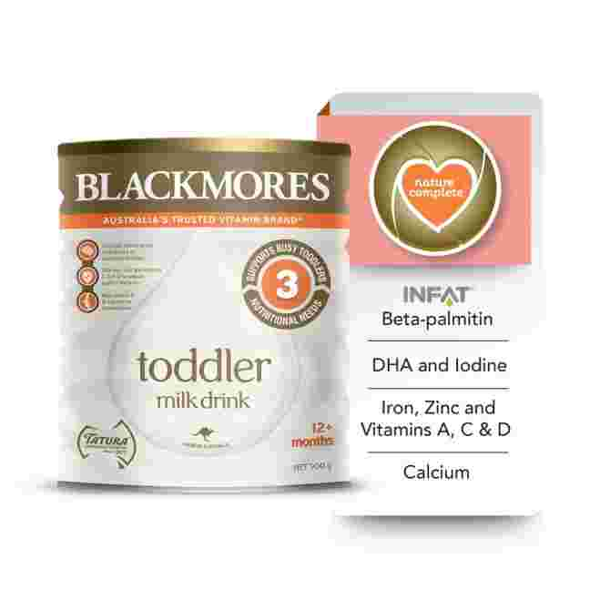 Blackmores formula milk in Singapore launched for toddlers