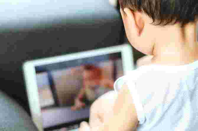 toddler screen time addiction