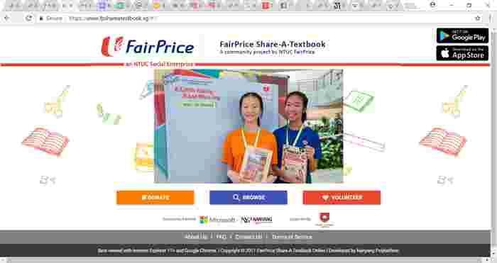 Used school books in Singapore: Donate and collect ONLINE!