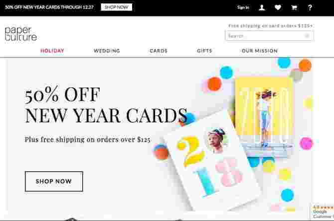 holiday cards online