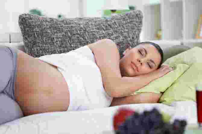 sleeping position during pregnancy third trimester