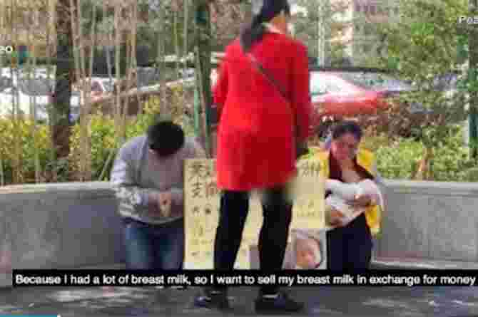 chinese mother sells breastmilk