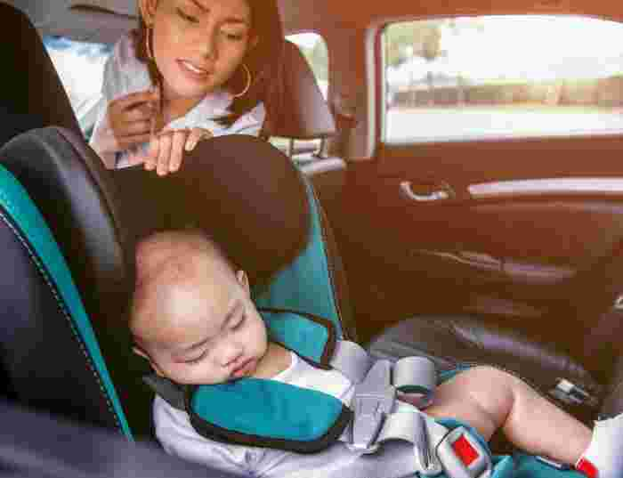 Baby Falling Out of Car Shows Importance of Child-proofing Vehicles