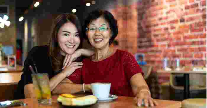 spending more time with your mother