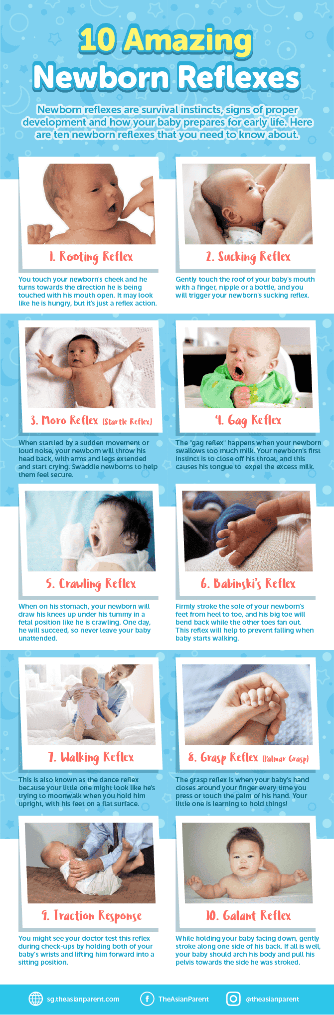 10 Newborn Reflexes Every New Mum Needs to Know About