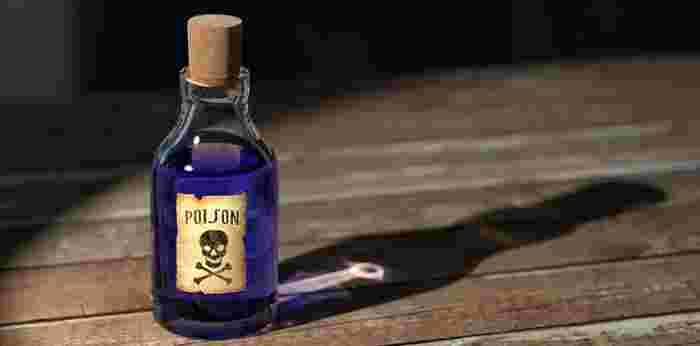 wife poisons her husband
