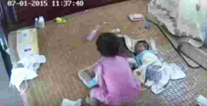 Newborns Should Never Be Left Alone with Toddlers... And This Is Exactly Why
