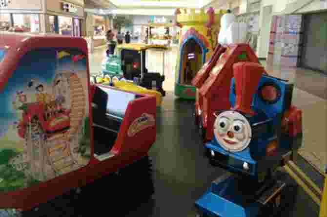 hfmd virus on trolleys and child rides