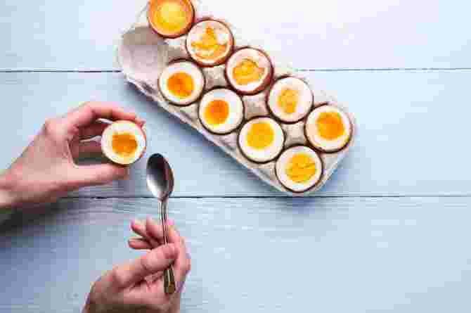 how to boil eggs so they peel easily
