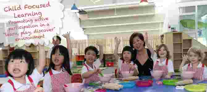 They're one of the popular preschools in Singapore