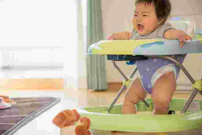 right time for baby walker