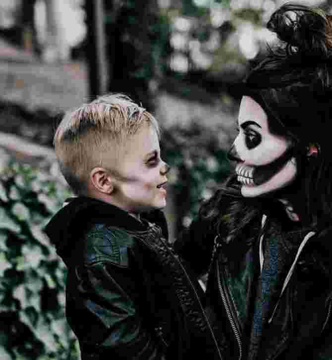 mother son halloween costumes