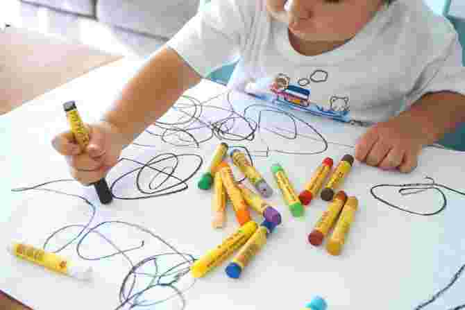 meaning of kids' drawings
