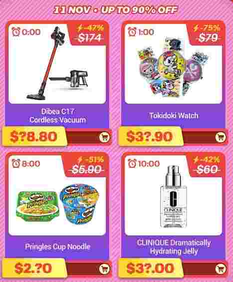 11.11 Singles Day 2018 In Singapore