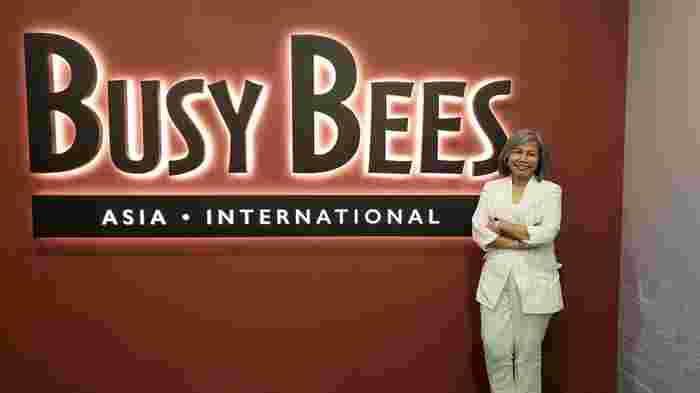 june rusdon busy bees asia international