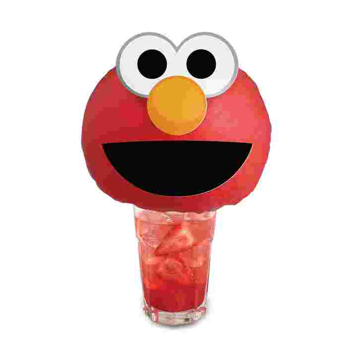 Cool down and Sesame Street 50th Anniversary with Elmo Fruit Soda