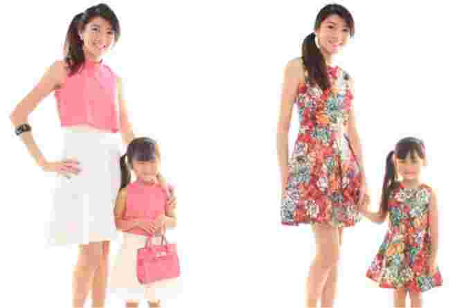 7 Fashionable And Cute Matching Outfits For Mums and Kids