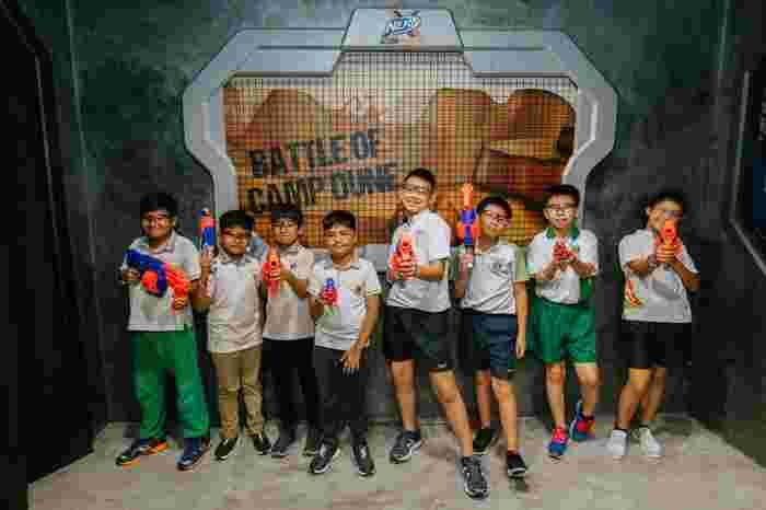 Nerf Interschool Competition