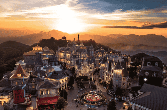 places in asia that look like europe