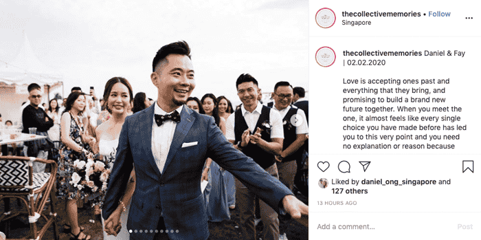 'Third Time's A Charm': Former DJ Daniel Ong Gets Married To Fiancée