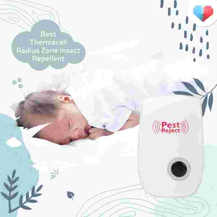 Ultrasonic Mosquito Pest Repellent: Best Thermacell Radius Zone Insect Repellent