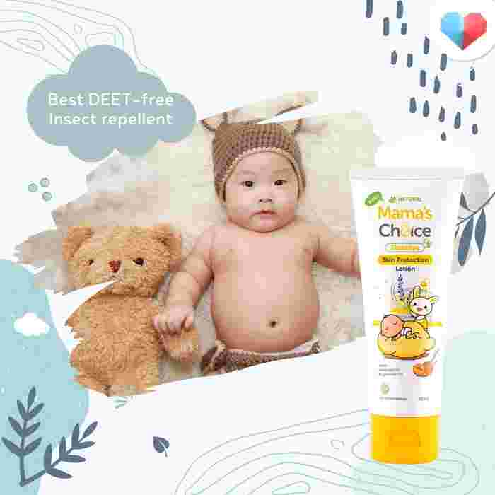 Mama's Choice Mozzbye Skin Protection Lotion Review:  Best DEET-free Insect repellent