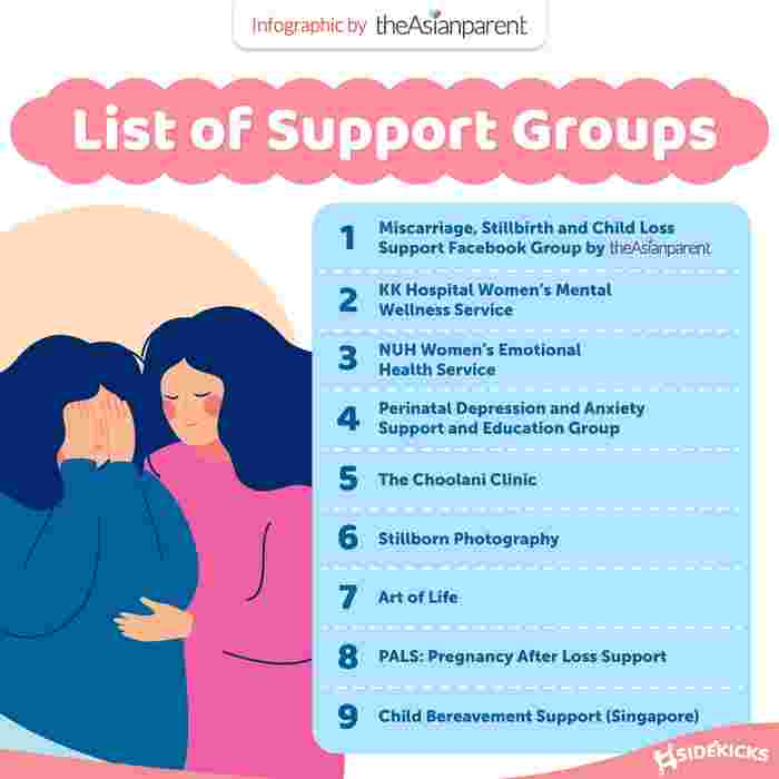 Support Groups, Counsellors and Therapists for Pregnancy Loss In Singapore