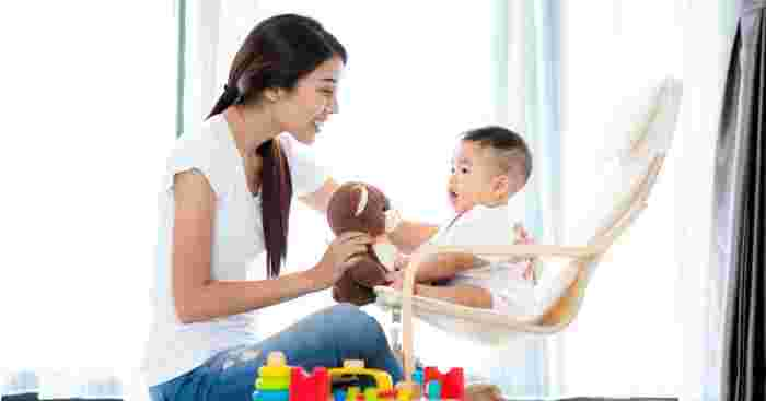 Keeping Your Baby's Head Upright Helps Promote Neck Development