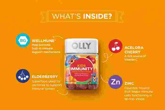 OLLY Gummy Supplements