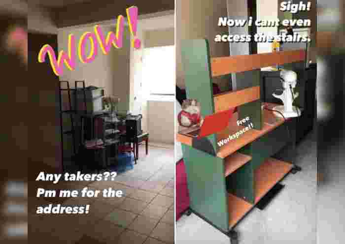 Local Actress Kimberly Chia & Her Family Kena Complained by Neighbours for Blocking HDB Common Space With Trash