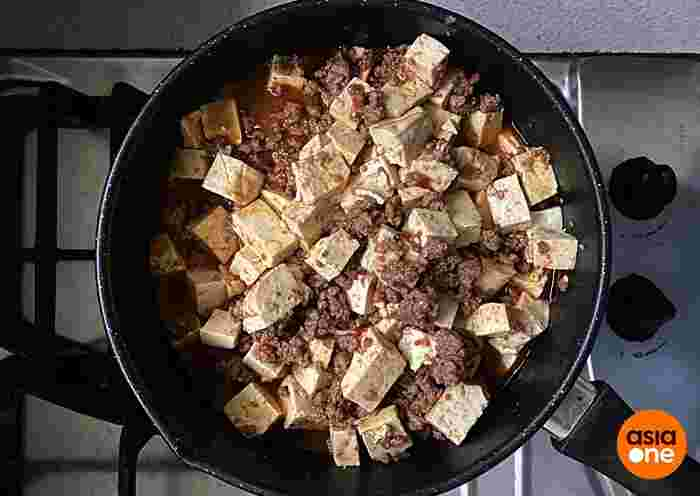 Mapo Tofu With Impossible Beef